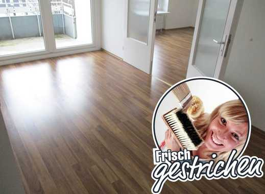 Frisch renovierte 3-Zimmer-Wohnung mit Balkon und Esszimmer
