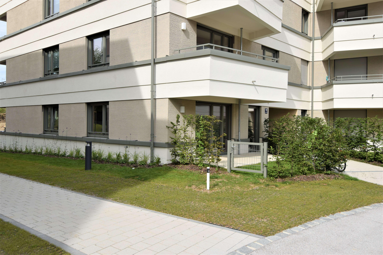 !Traumhaft! Möbliertes 1,5 Zi. Apartment mit Terrasse! Erstbezug! 2 Min. zur S-Bahn Aubing!!!
