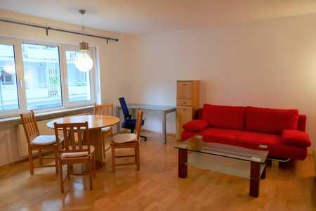 Direkt an U-Bahn Hohenzollernplatz, möblierte 1-Zimmer-Wohnung in Schwabing-West in Schwabing-West (München)