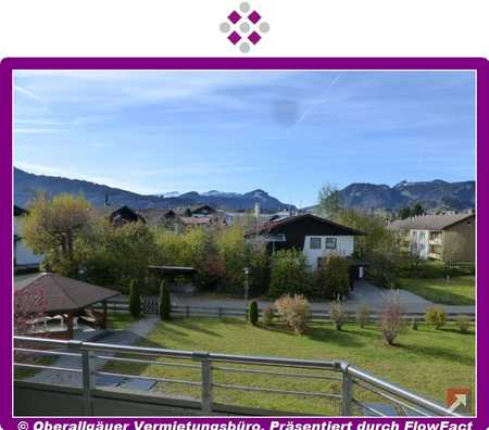2-Zimmer-Wohnung in Oberstdorf mit West-Balkon in Oberstdorf