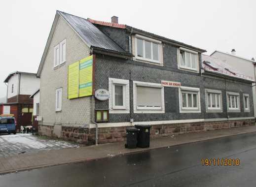schöne Doppelhaushälfte mit zwei seperaten Wohnungen in Gräfenroda