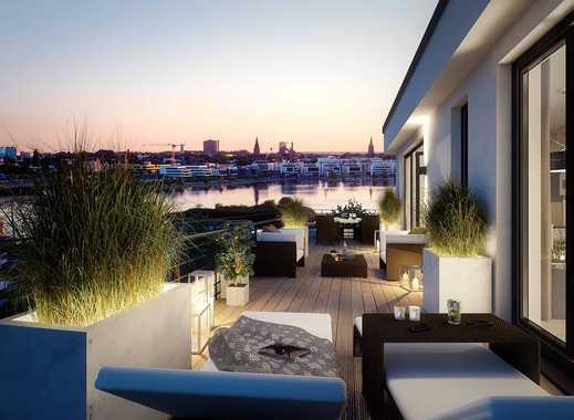 Tolle 3-Zimmer-Wohnung mit einzigartigem Seeblick! Ensuite Bad mit Tageslicht + tolle Dachterrasse