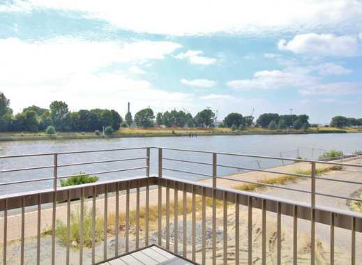 3 Zimmer Wohnung - Top Lage mit direktem Weserblick! Deichhäuser!
