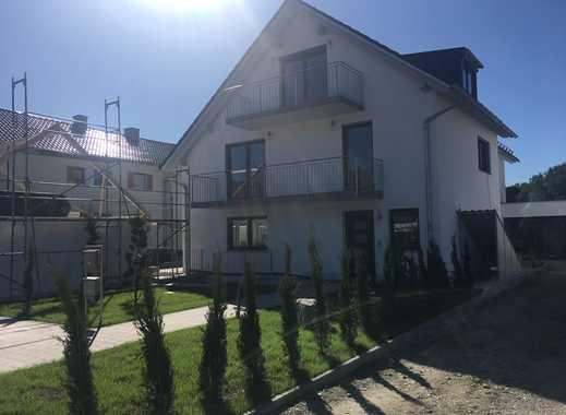 Erstbezug: OG & DG Wohnung mit 2 Balkone: attraktive 4-Zimmer-Wohnung in Hebertshausen