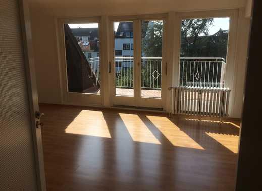 Helle, ruhige 2-Zimmer-Wohnung für Single mit Süd-Balkon in toller Lage in Bürgerparknähe