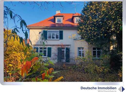 Wohntraum: 1-2 Familienhaus in Toplage Stuttgarts (Gänsheide)