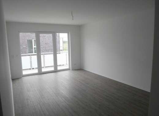 2-Zimmer-Neubau-Wohnung mit Tiefgarage, Fahrstuhl, großem Balkon und Einbauküche