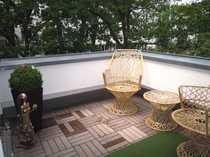 Attraktive DG-Maisonette mit Terrasse und