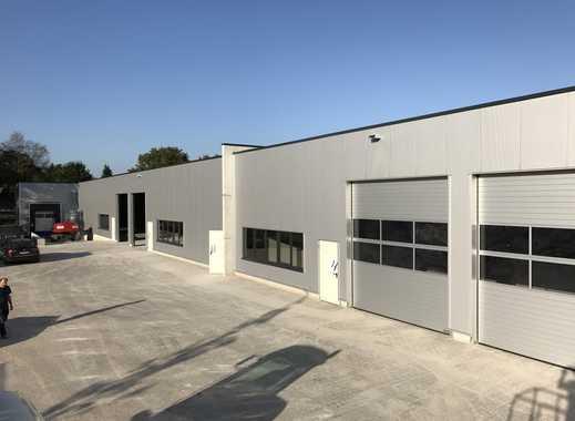 NEUBAU! Direkt A14/A2 Gewerbehalle Lager Logistik Produktion.