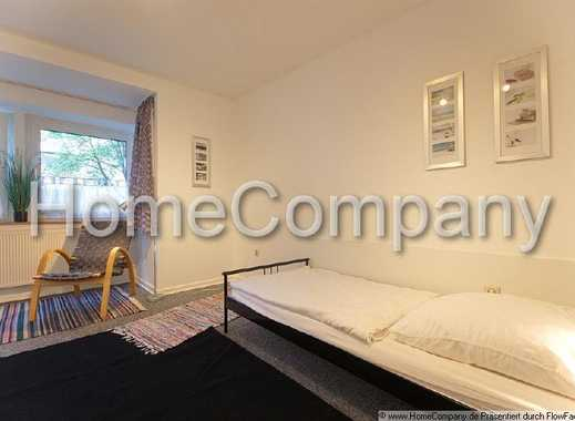 Zimmer mit Erker in der schönen südlichen City mit Küchen-, Bad- und Gartenmitnutzung.