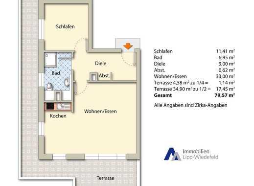 Erstbezug: Barrierefreie Neubauwohnung in Viersen, Dachgeschoß links