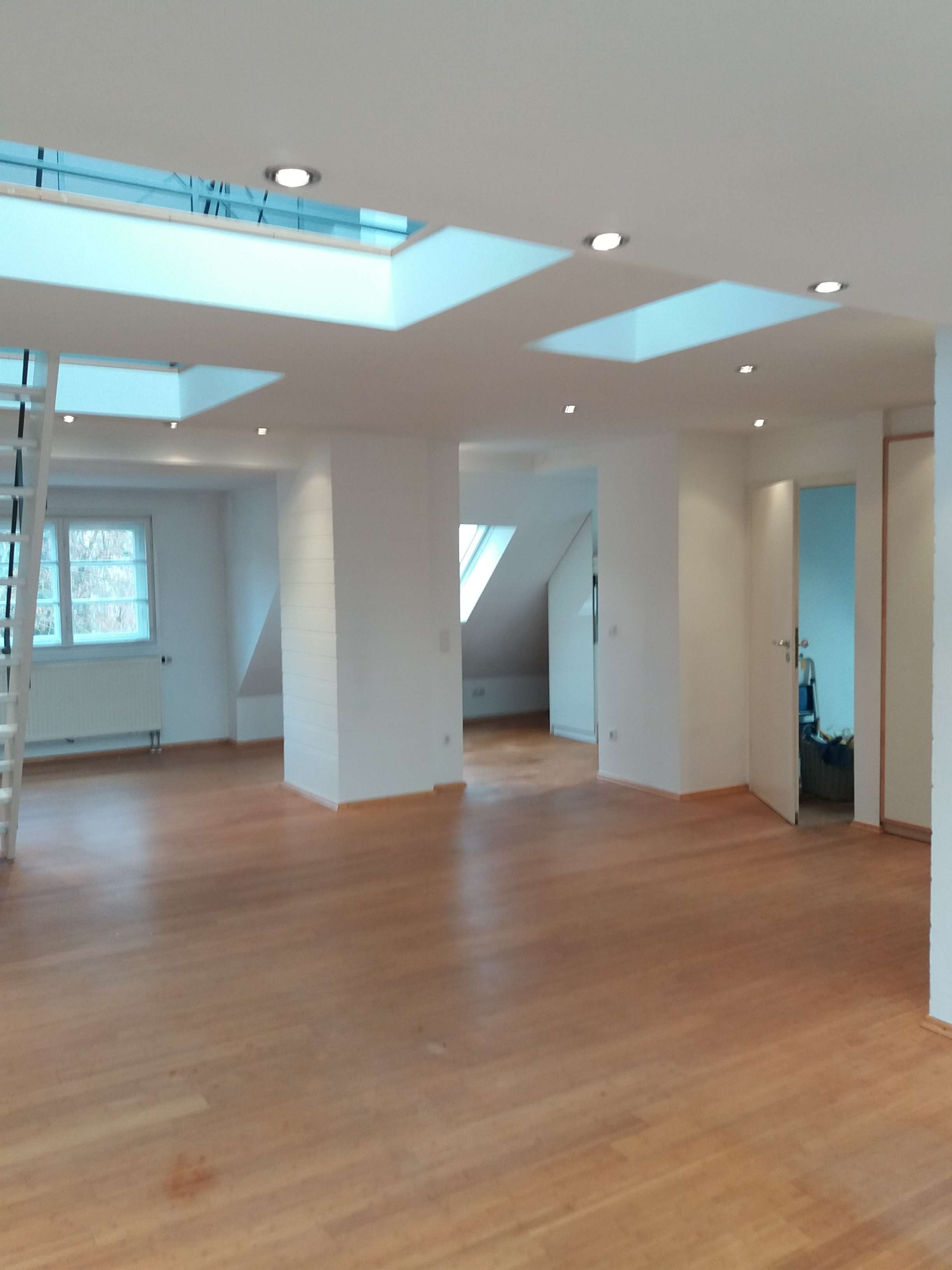 kleine Maisonette-Wohnung, Loft, Bestlage im Zentrum, ruhig in Freising