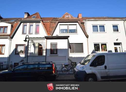 Woltmershausen / Kapitalanlage: Gepflegtes Reihenhaus mit 3 Wohneinheiten