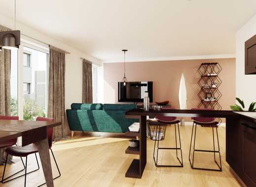 Wohnen am Wiesengrund! Neubauwohnung mit Tageslichtbad, Einbauküche, Lift