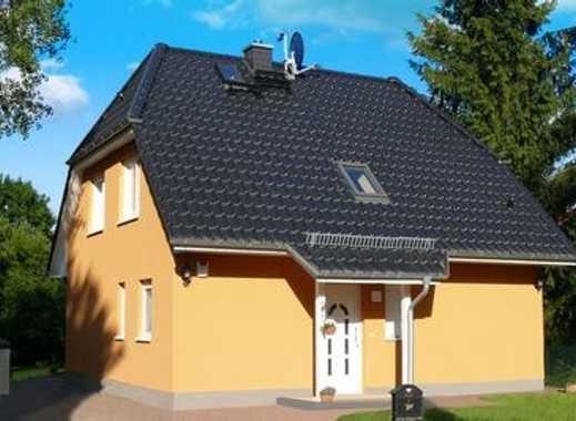 Bauen mit Elbe-Haus®! Kompaktes Haus mit viel Platz zum attraktiven Preis! Natürlich Massiv!