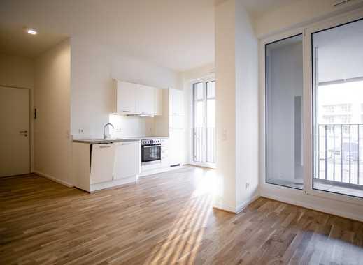 Stilvolle 2-Zimmer-Wohnung mit hochwertiger Einbauküche und Loggia im Herzen der Stadt
