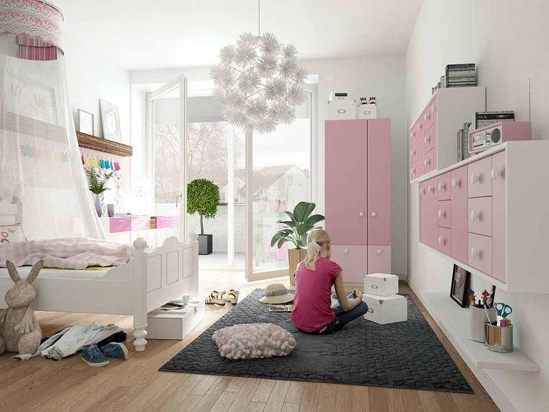 !Baustellenbesichtigung Samstag 10 – 12 Uhr! 5-Zimmer-Wohnung mit 4 Schlafzimmern und 2 Bädern