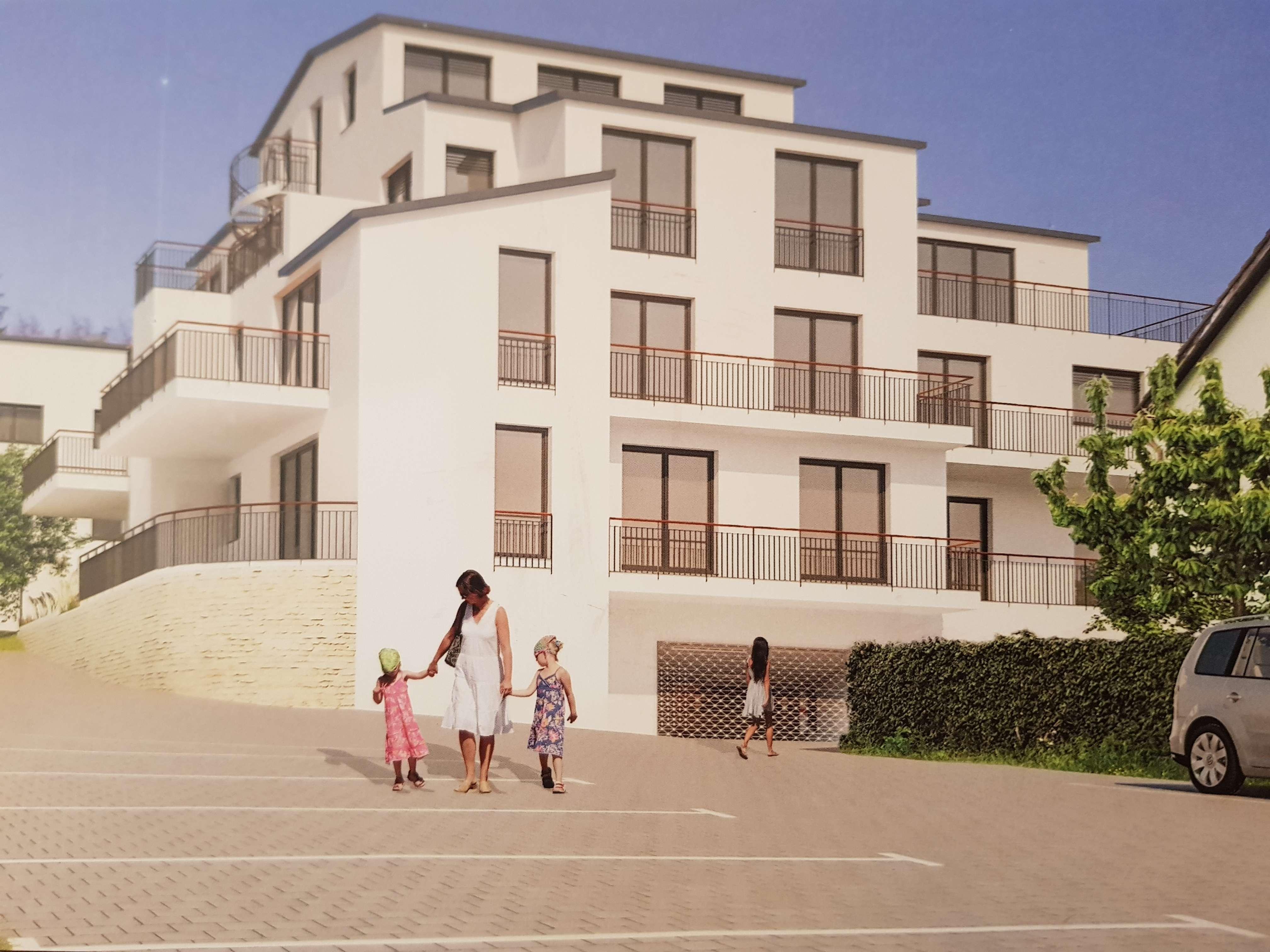 Erstbezug: freundliche und ruhige 3-Zimmer-Wohnung mit Balkon neben Würzburg in Rimpar