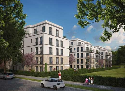 Den Blick in's Grüne und doch in der City! 4-Zimmer-Familienwohnung auf ca. 98 m² mit 12 m² Balkon