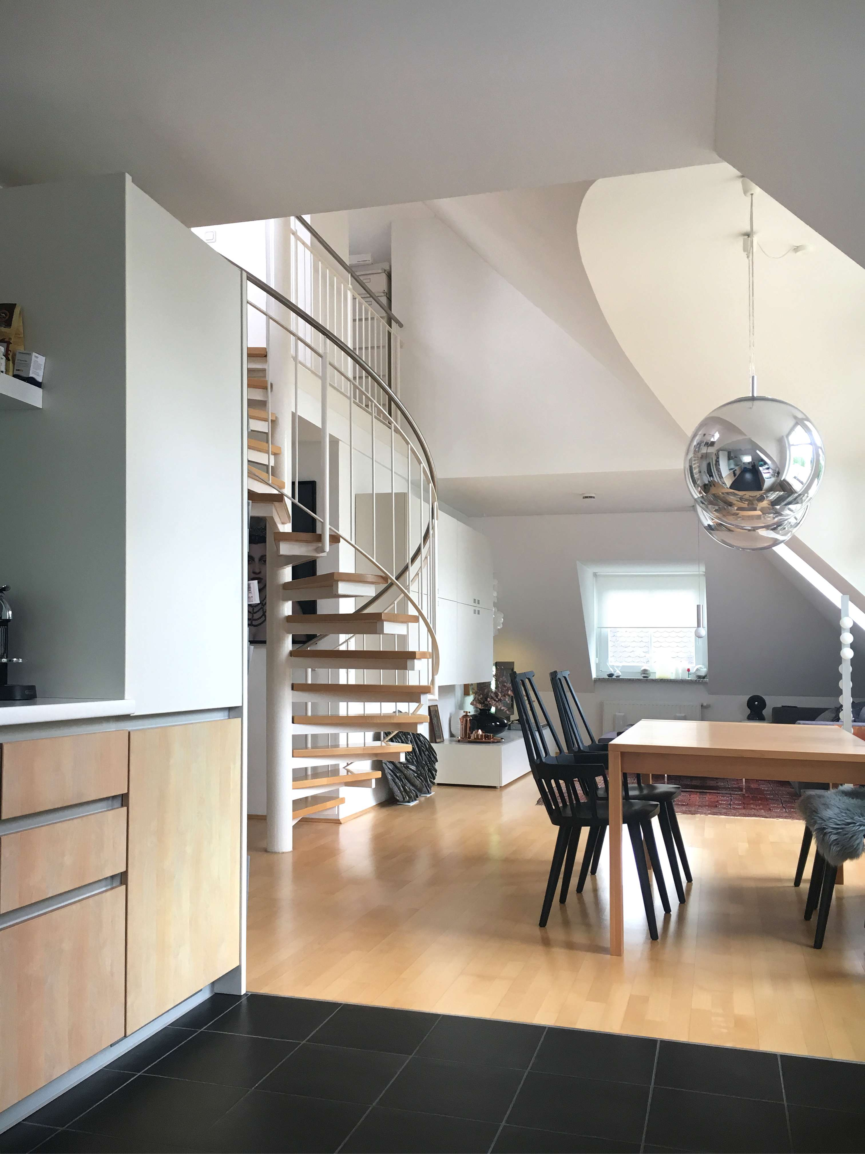 Sehr helle loftartige Maisonette-Wohnung in München-Solln in Solln (München)