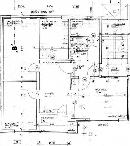 Lichtdurchflutete 3,5-Zimmer-Wohnung mit Balkon und Einbauküche im Südwesten von Amberg in Amberg