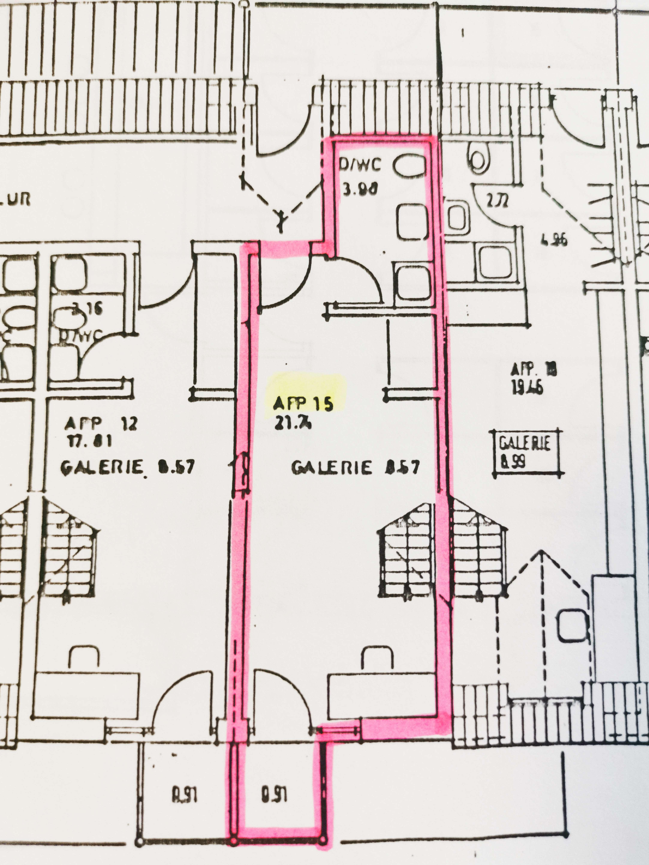 Exklusive, gepflegte 1-Zimmer-Maisonette-Wohnung mit Balkon und Einbauküche in Regensburg