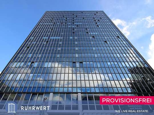 Außen von RUHRTOWER: Repräsentative Büros über den Dächern der Innenstadt !!
