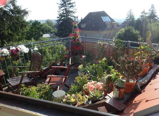 Gepflegte 3-Zimmer-Maisonette-Wohnung mit großem Balkon in Weimar-Südstadt