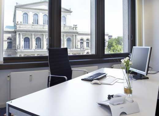 Büro, Virtual Office und Geschäftsadresse mit Blick auf die Oper in Hannover
