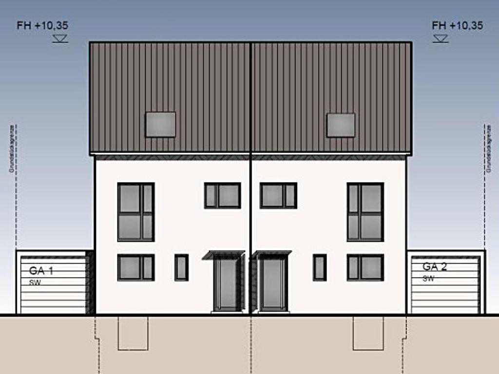Doppelhaushälften mit sytlischem Grundriss, bezugsfertig inkl ...
