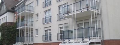 Schöne 2-Zimmer-Wohnung mit Balkon und Einbauküche direkt im Zentrum von Bad Oeynhausen