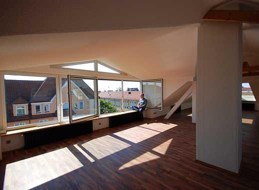 Frisch sanierte Dachgeschoss-Wohnung