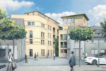 Stilvolle, geräumige und neuwertige 1-Zimmer-EG-Wohnung mit Terasse und EBK in Forchheim in Forchheim (Forchheim)