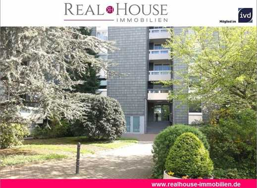REAL HOUSE: Großzügiger Wohntraum in direkter Rheinnähe! 4 Zi. WHG mit SW-Loggia, Tiefgarage & Sauna