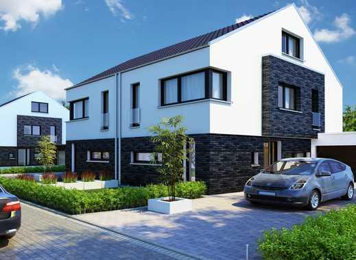 Exklusive Doppelhaushälfte für individuelles Wohnen