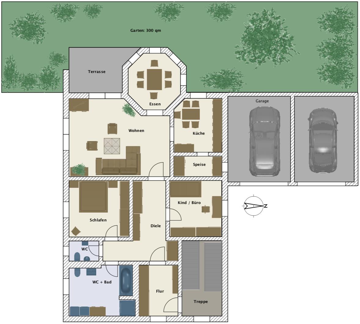 3,5-Zimmer Wohnung mit Garten in Lappersdorf (bei Regensburg) in Lappersdorf