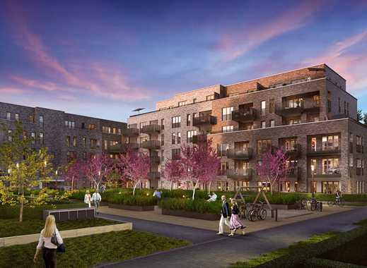Erstbezug einer exklusiven 2 Zimmer Neubauwohnung mit Südbalkon und Tiefgarage