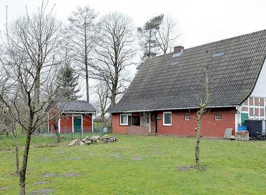 Zweiständer-Fachwerkhaus mit großem Garten in ruhiger Randlage von Oldendorf