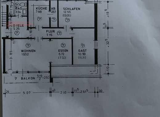 Erstbezug nach Kernsanierung mit Balkon: exklusive 3-Zimmer-DG-Wohnung in Bremen