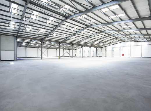 Lager-, Logistik-, Produktionshalle