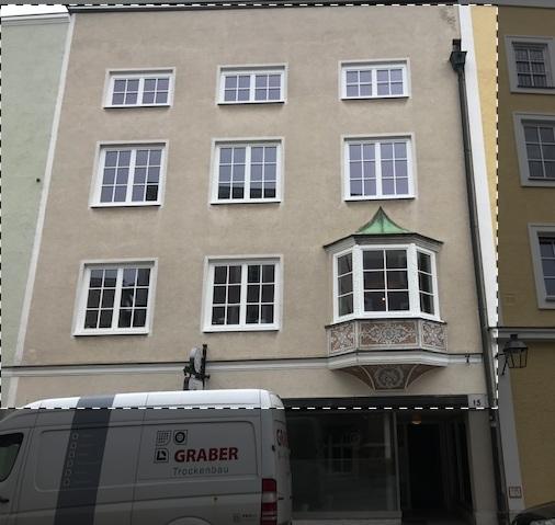 Erstbezug nach Sanierung: Ansprechende 2-Zimmer-Wohnung mit EBK und Balkon in Trostberg in Trostberg