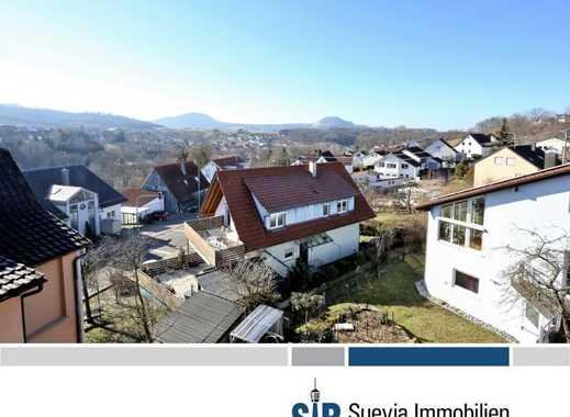 2-Familienhaus mit Weitblick auf die Schwäbische Alb in Schwäbisch Gmünd-Bettringen