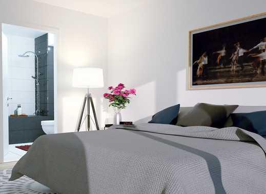 Purer Wohngenuss! 3-Raum-Wohnung mit Badezimmer en Suite, hochwertiger Einbauküche und Loggia