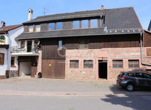 Reitanlage mit Halle und Reitplatz im kleinen Odenwald