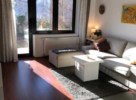 Parterre , Ruhig- 3min Berger Str.!,großer BALKON,großer GARTEN, große Küche+Einbauküche,Waschkeller