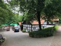 Historisch romantische Wassermühle