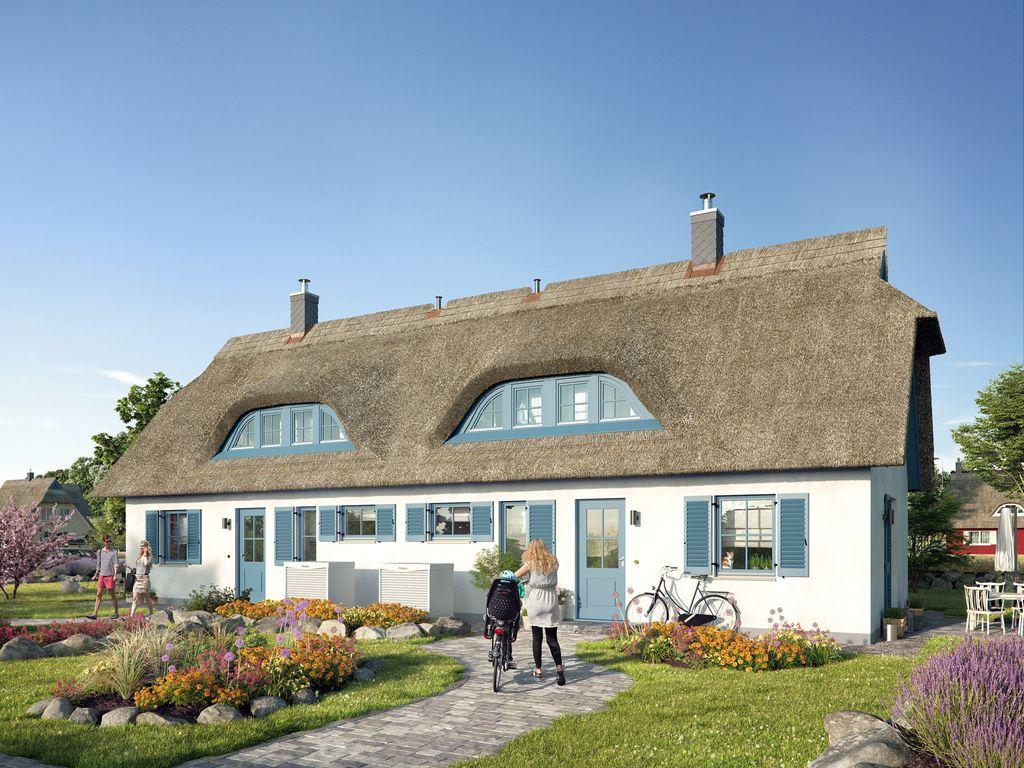Reetdachhaus Sandregenpfeifer