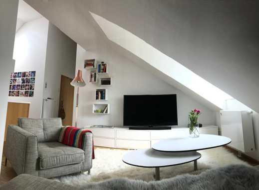Möbeliertes Luxus Apartment voll ausgestattet in Moosach direkt an der U-Bahn