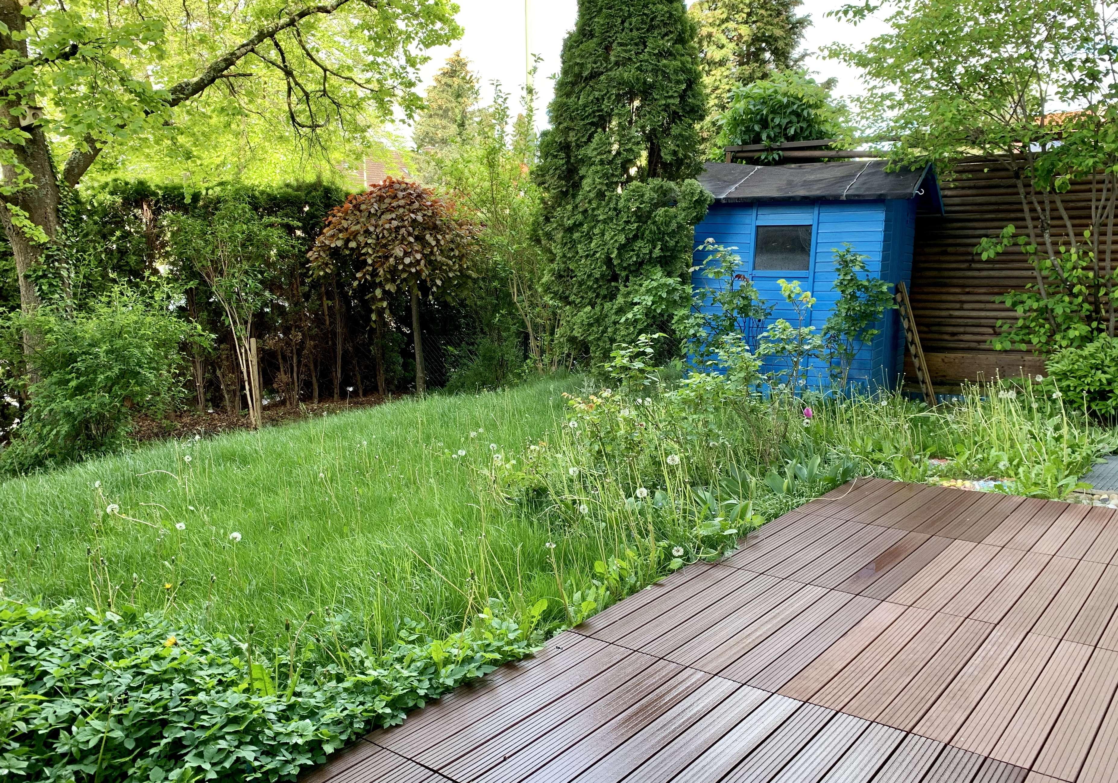 Gemütliche Gartenwohnung wartet auf ihren neuen Mieter