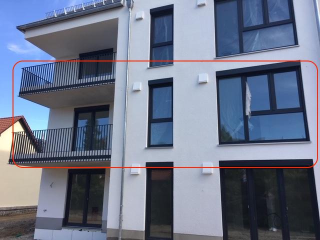 NEUBAU/ERSTBEZUG: stilvolle und gehobene 3-Zimmer-Wohnung in Gersthofen